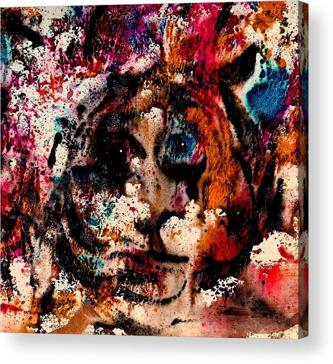 Twilight Zone Acrylic Print featuring the painting The Twilight Zone by Natalie Holland