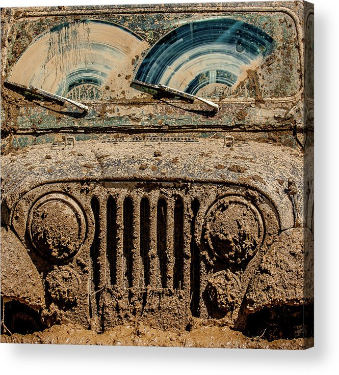 Jeep Acrylic Print featuring the photograph After The Mudbog by Jay Heiser