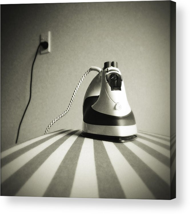 Retro Acrylic Print featuring the photograph Iron by Les Cunliffe