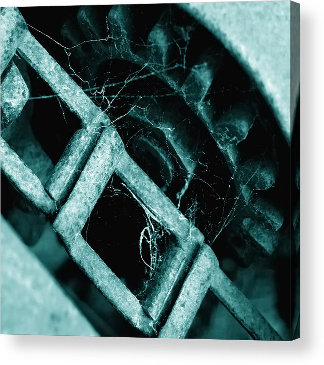 Industrial Acrylic Print featuring the photograph Retired by Steven Milner
