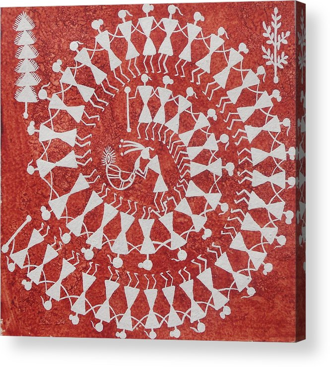 Unique Art Of Warli Painting