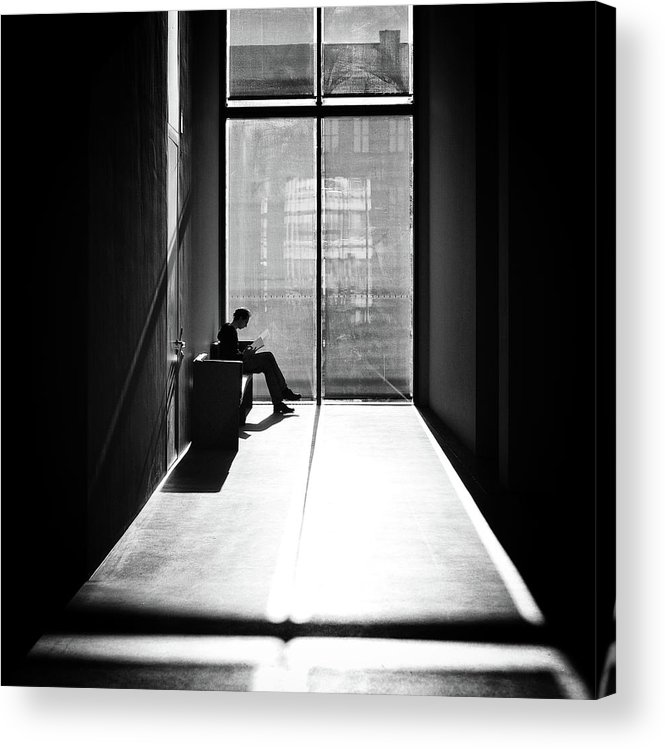 Window Acrylic Print featuring the photograph Windowlight by Michael M.