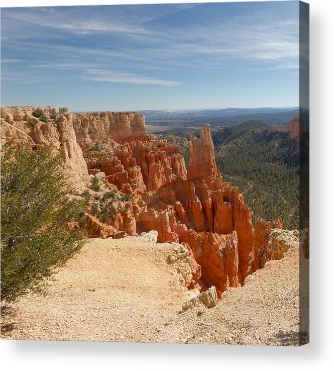 Bryce Canyon Acrylic Print featuring the photograph Fairview Point 09 by John Appleby