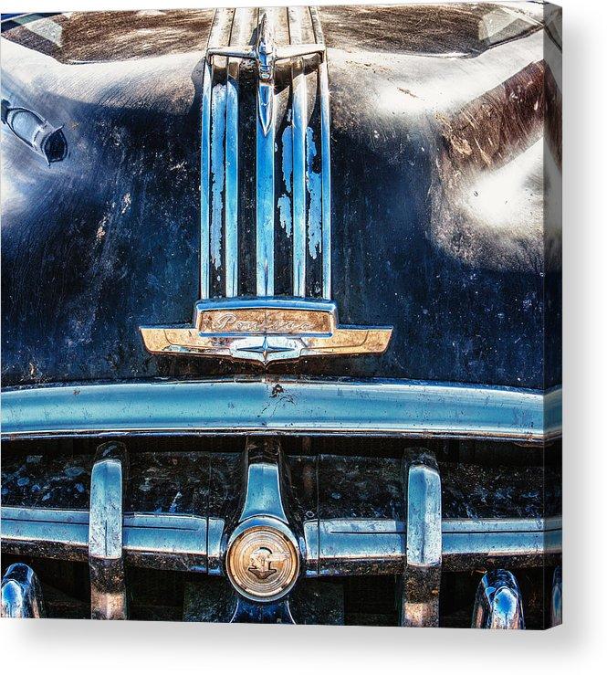 Cheyenne Acrylic Print featuring the photograph Pontiac Silver Streak by Richard Steinberger
