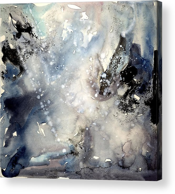 Abstraction Acrylic Print featuring the painting Abstract Expressive 009 by Joe Michelli