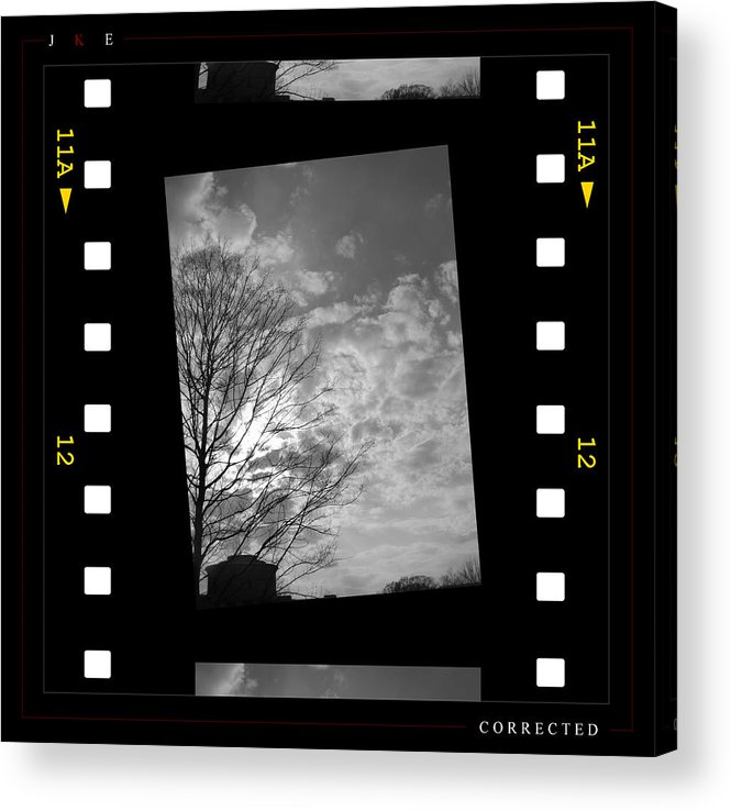 Ksu Acrylic Print featuring the photograph Corrected by Jonathan Ellis Keys