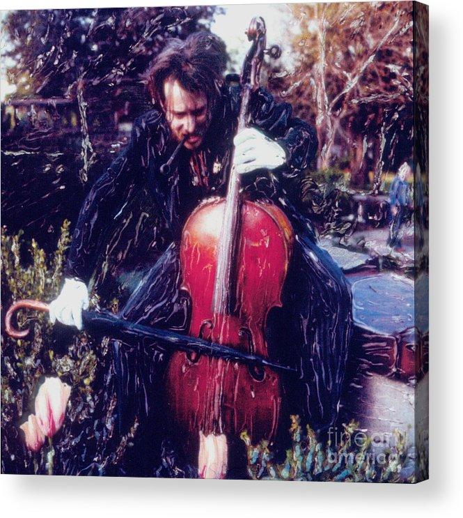 Polaroid Acrylic Print featuring the photograph Eine Kleine Bull-seal Musik by Steven Godfrey
