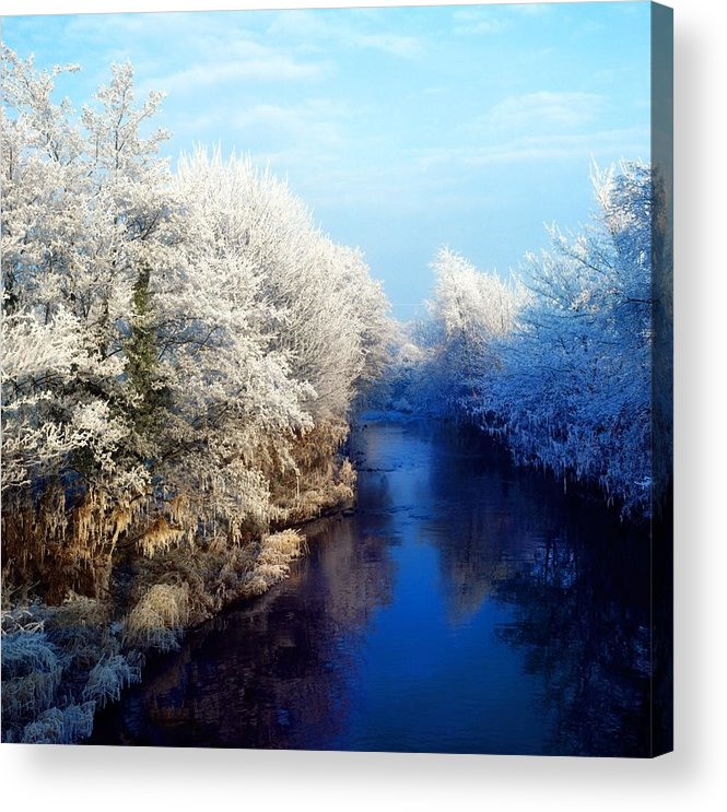 Beauty In Nature Acrylic Print featuring the photograph River Bann, Co Armagh, Ireland by The Irish Image Collection