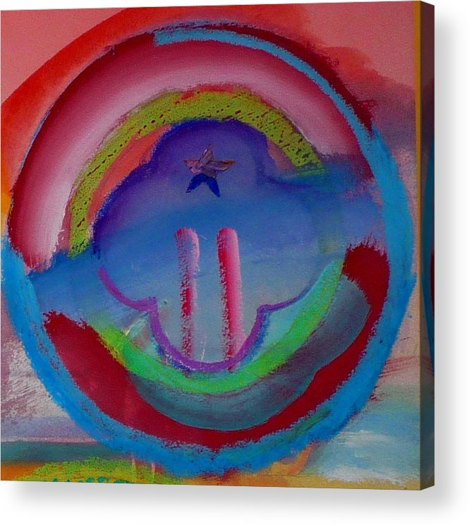 Logo Acrylic Print featuring the painting two by Charles Stuart