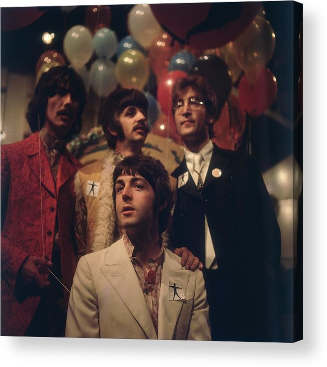Rock Music Acrylic Print featuring the photograph All You Need Is Love by Bips
