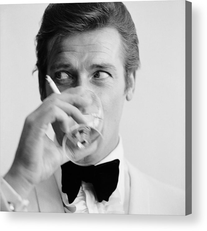 Smoking Acrylic Print featuring the photograph Shaken Not Stirred by Peter Ruck
