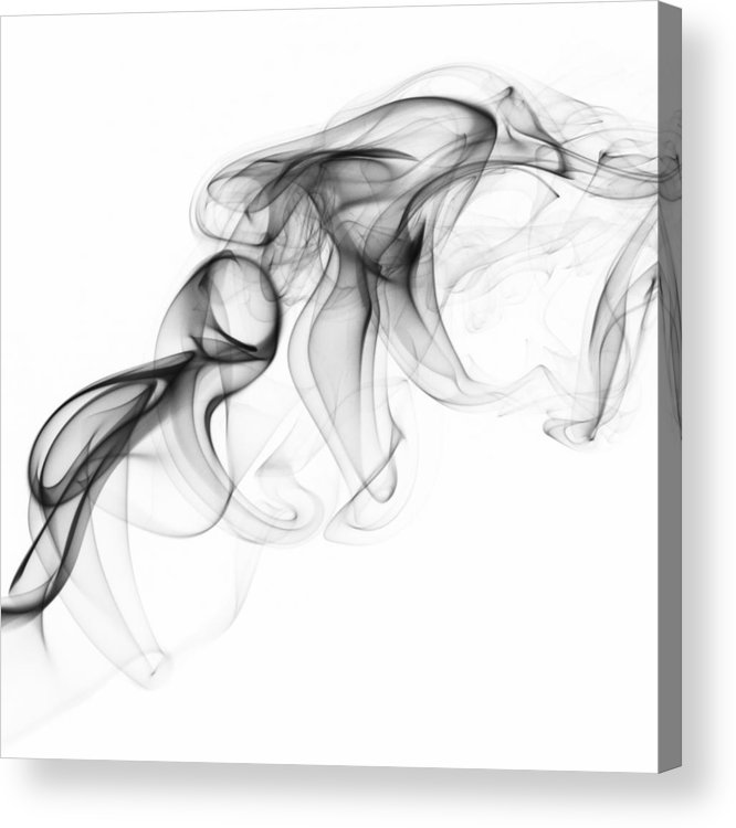 Smoke Acrylic Print featuring the photograph Fluidity No. 1 by Andrew Giovinazzo