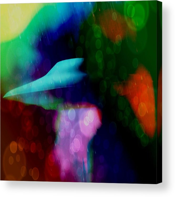 Cloaking Acrylic Print featuring the photograph Cloaking Technology by Daryl Macintyre