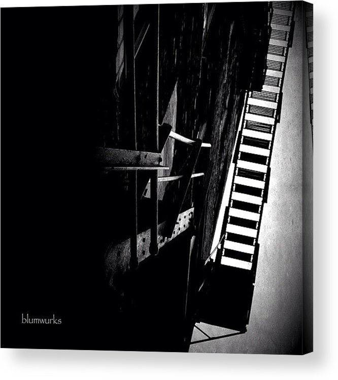 Jj Acrylic Print featuring the photograph Escaping The Darkness by Matthew Blum