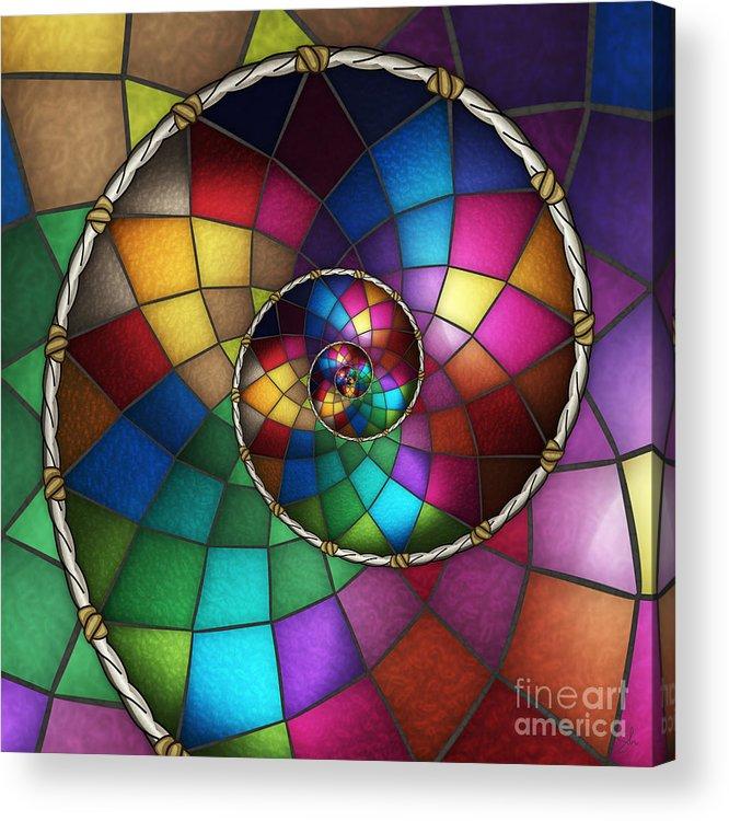 Faith Acrylic Print featuring the digital art Faith Catcher by Shawn Young