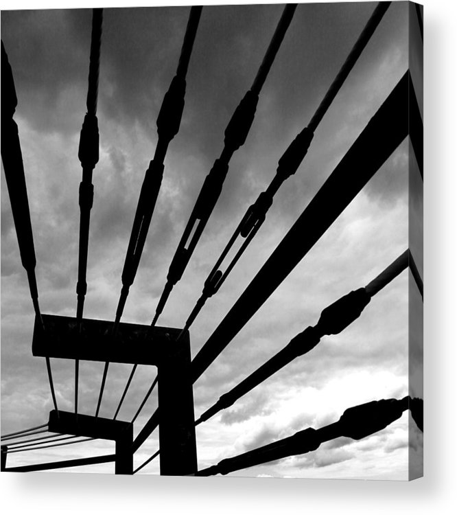 Dark Sky Acrylic Print featuring the photograph Fear And Anger by Joseph G Holland