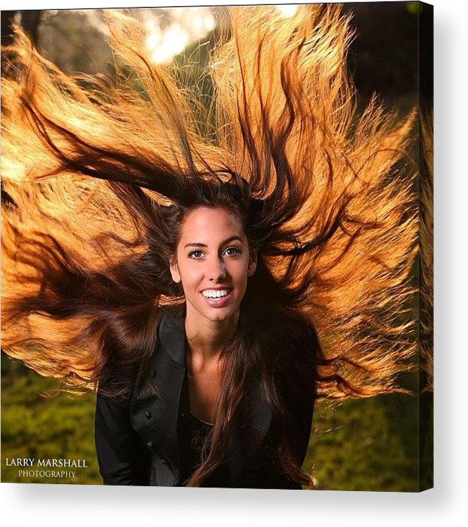 Acrylic Print featuring the photograph I Had An Opportunity To Shoot Dana by Larry Marshall
