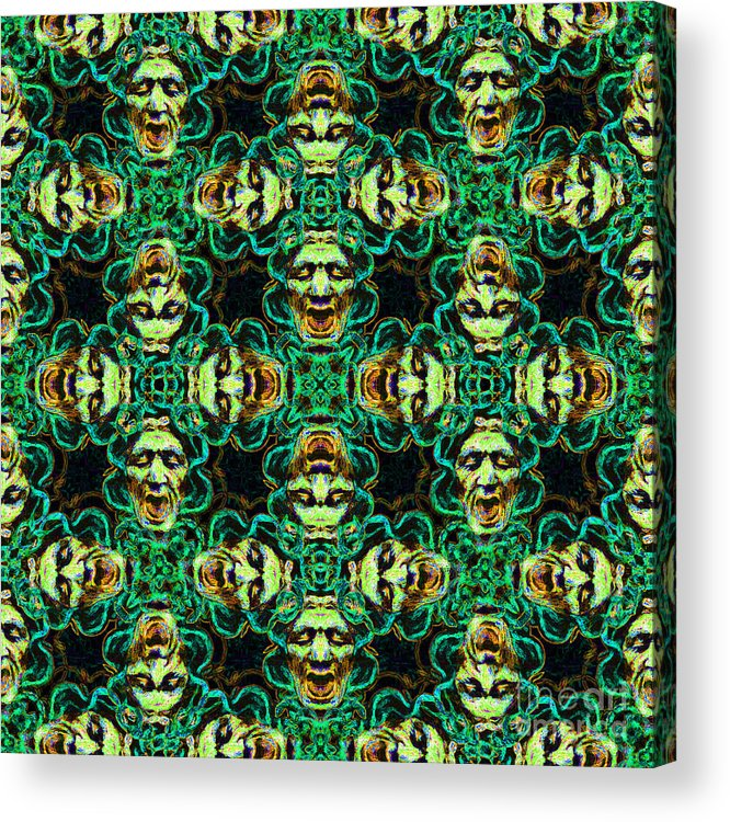 Medusa Acrylic Print featuring the photograph Medusa Abstract 20130131p38 by Wingsdomain Art and Photography