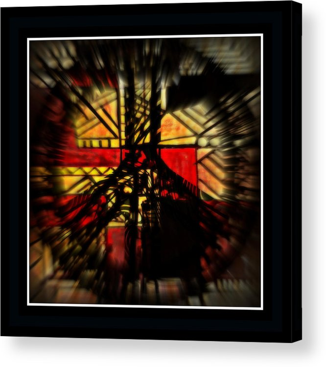 Peace Acrylic Print featuring the mixed media Peace Series Xx by Wendie Busig-Kohn