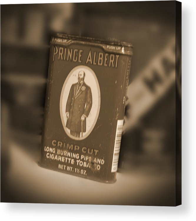 Prince Albert Acrylic Print featuring the photograph Prince Albert In A Can by Mike McGlothlen