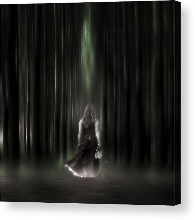 Woman Acrylic Print featuring the photograph The Forest by Joana Kruse