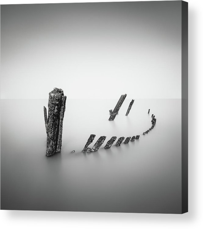 France Acrylic Print featuring the photograph What's Left Behind by Christophe Staelens