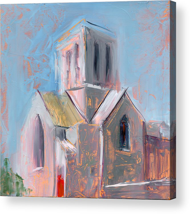 Church Acrylic Print featuring the painting Rcnpaintings.com by Chris N Rohrbach