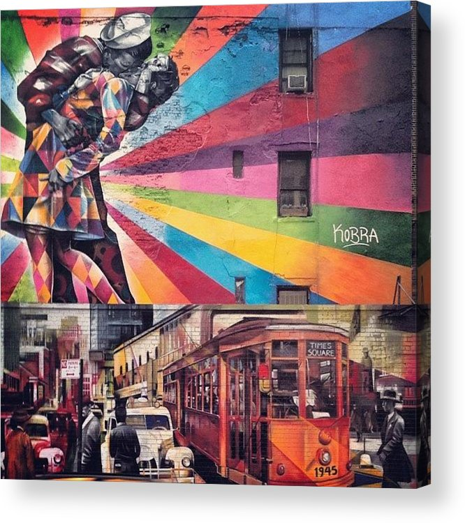 Summer Acrylic Print featuring the photograph Art By Kobra by Randy Lemoine