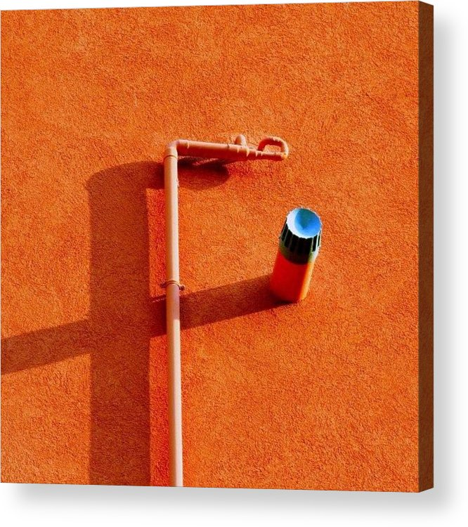 Decorative Acrylic Print featuring the photograph F Stop #detail #shadow #italy by A Rey