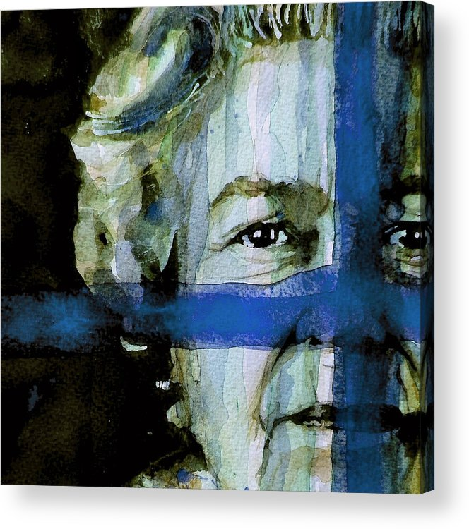 Elizabeth Ii Acrylic Print featuring the painting Her Majesty's A Pretty Nice Girl by Paul Lovering