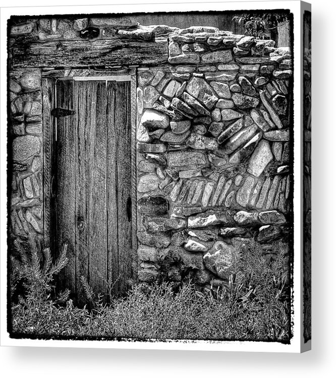 New Mexico Acrylic Print featuring the photograph New Mexico Door IIi by David Patterson