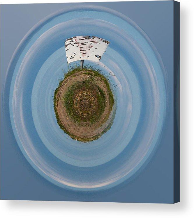 Gulf Of Bothnia Acrylic Print featuring the photograph The Sign by Jouko Lehto