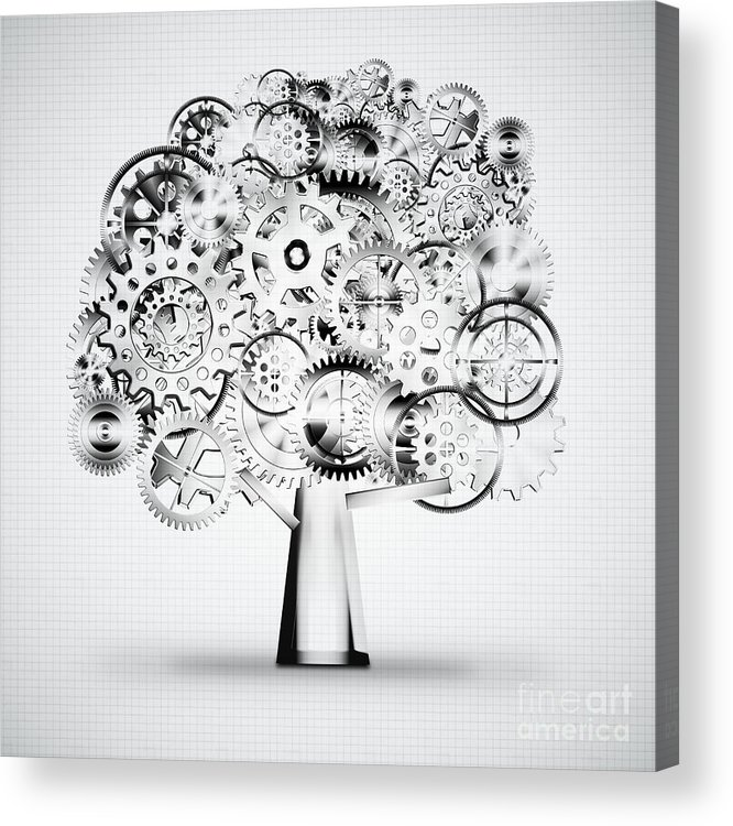 Art Acrylic Print featuring the photograph Tree Of Industrial by Setsiri Silapasuwanchai