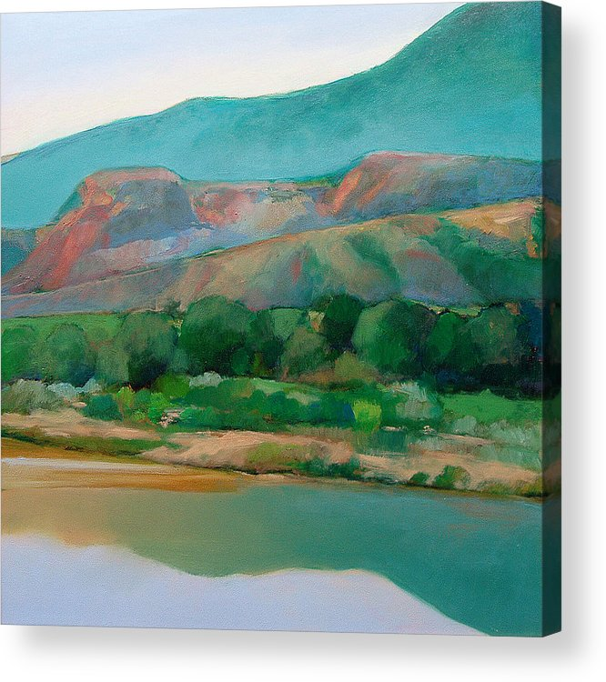 Chama River Acrylic Print featuring the painting Chama River by Cap Pannell