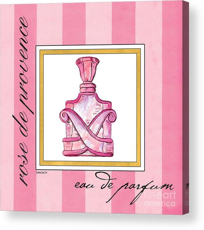 Perfume Acrylic Print featuring the painting Eau De Parfum by Debbie DeWitt