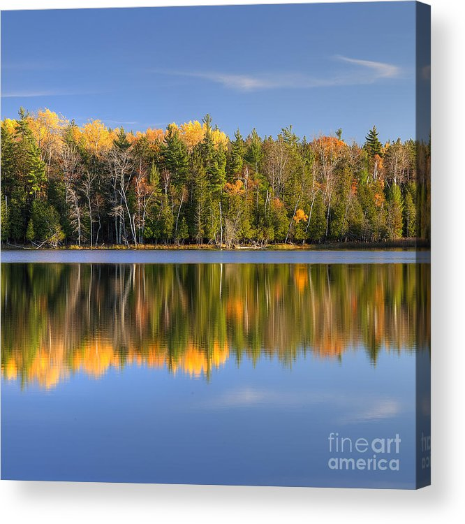Sleeping Acrylic Print featuring the photograph Fall In Sleeping Bear Dunes by Twenty Two North Photography