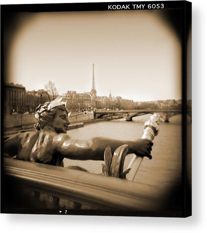 Paris Acrylic Print featuring the photograph A Walk Through Paris 7 by Mike McGlothlen