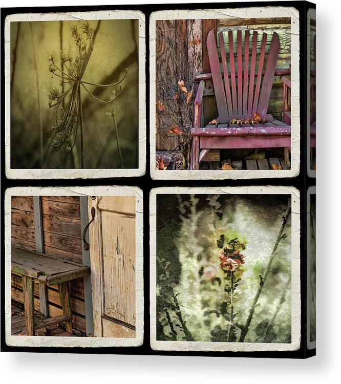 Nostalgic Photos Acrylic Print featuring the photograph Backward Glance by Bonnie Bruno