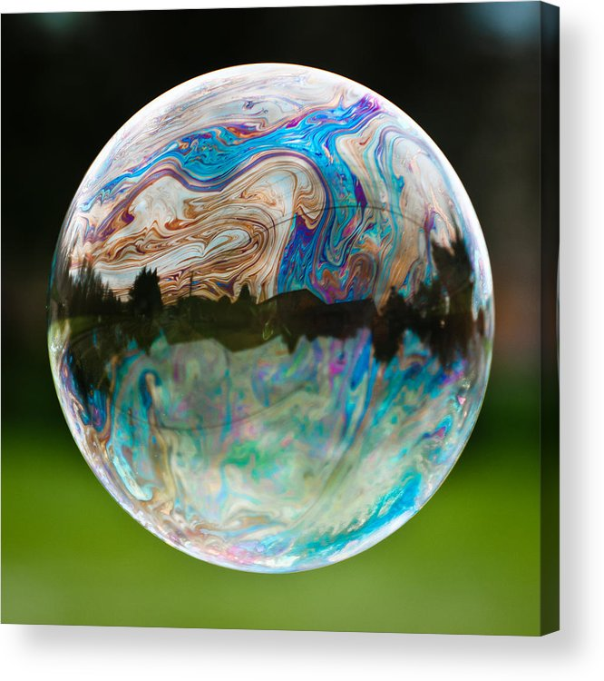 Bubble Acrylic Print featuring the photograph Bubble by Brian Bonham