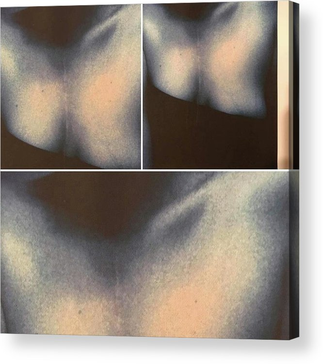 Acrylic Print featuring the photograph Butterfly Formations by Gina Bonelli