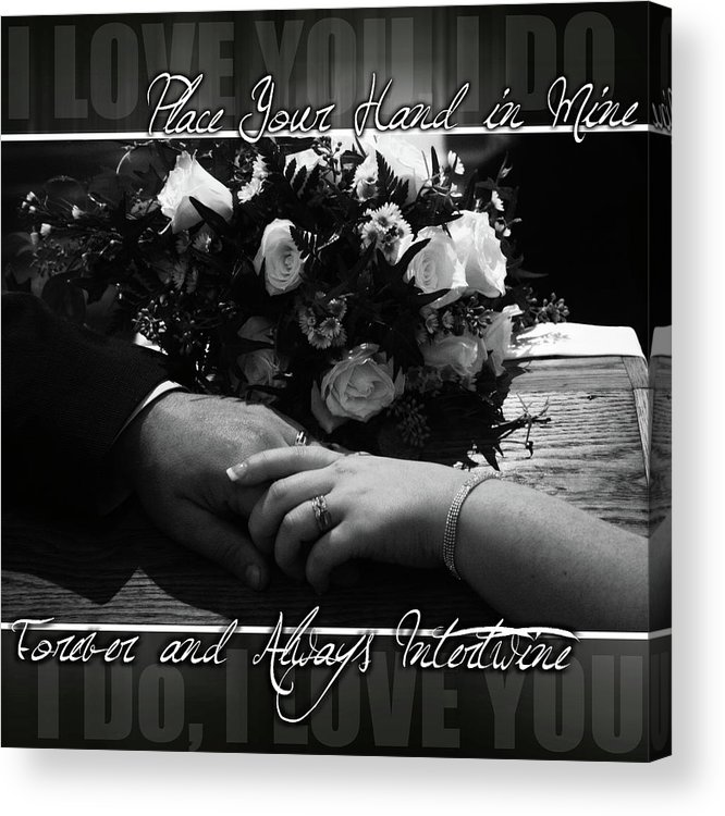 Forever Acrylic Print featuring the photograph Forever And Always by Adam LeCroy