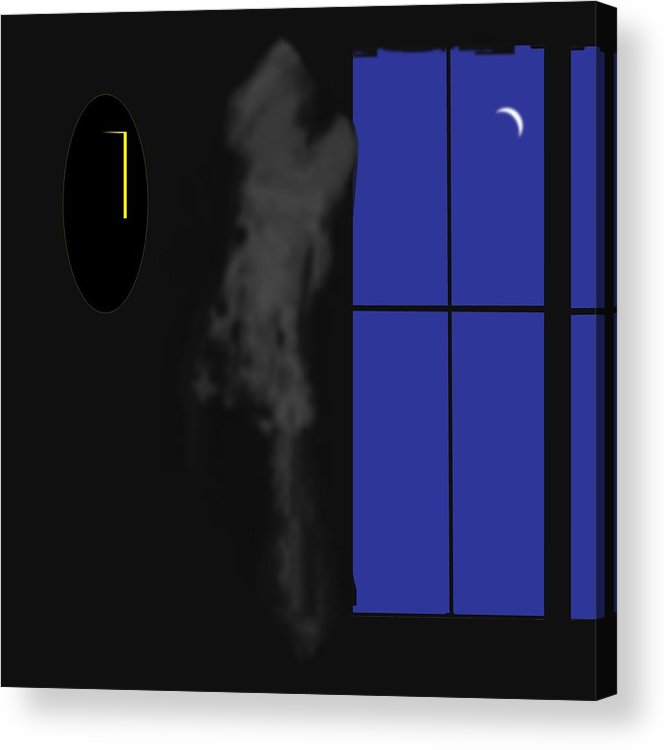 Ghost Acrylic Print featuring the digital art Ghost by Geoff Simmonds
