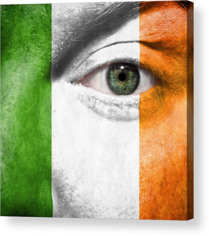 2012 Acrylic Print featuring the photograph Go Ireland by Semmick Photo