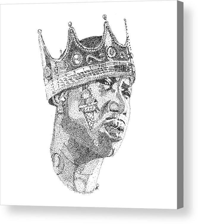 Gucci Mane Acrylic Print