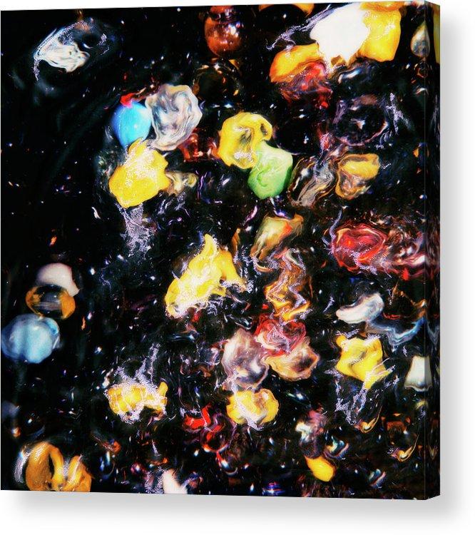 Paul Tokarski Acrylic Print featuring the photograph Jelly Fish by Paul Tokarski