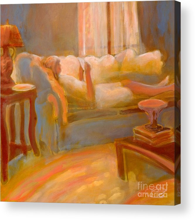 Love Acrylic Print featuring the painting Love Letter by Kip Decker