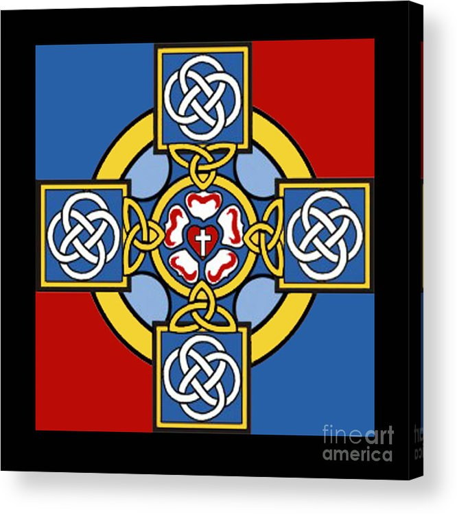 Cross Acrylic Print featuring the photograph Lutheran Cross by Jost Houk