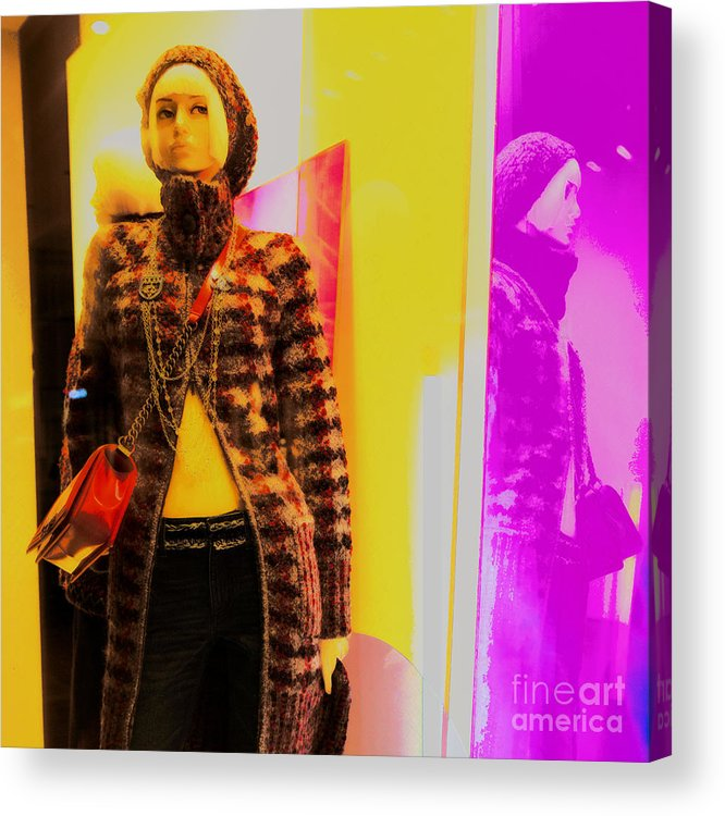Mannequin Acrylic Print featuring the photograph 10474 Mannequin Series 5 - 02 by Colin Hunt