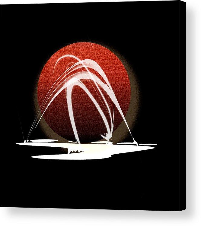 Original Acrylic Print featuring the painting Penman Original-303 by Andrew Penman