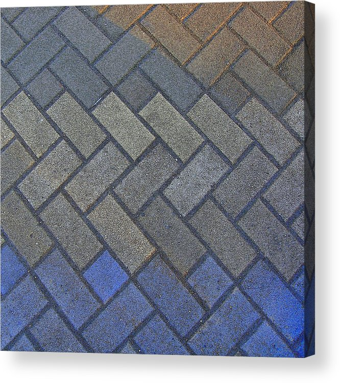 Tiling Acrylic Print featuring the photograph Perfect Tiling by Roberto Alamino